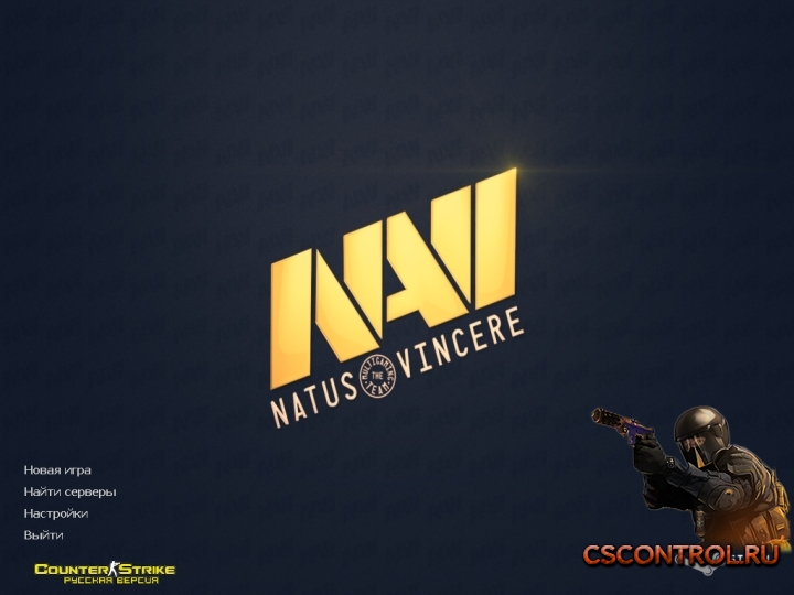 Тема Na`Vi для Counter-Strike 1.6