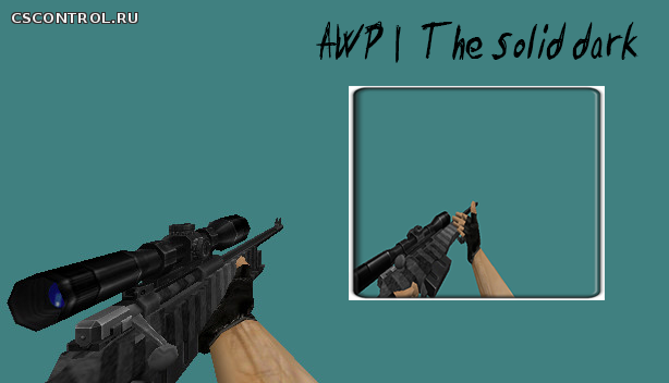Awp | The solid dark | by solo