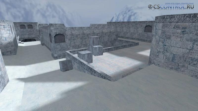 Карта de_dust2_frost для CS 1.6