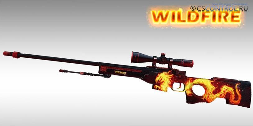 Модель AWP | Wildfire для CS 1.6